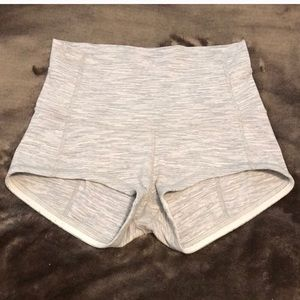 High waist boogie shorts size 6